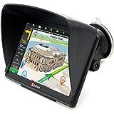 """7"""" GPS para Coche 8GB/256M DDR/800MHZ Actualización Gratis de Mapa de Europa Toda la Vida - Junsun (7 Pulgada)"""