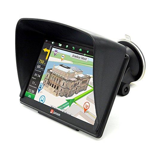 """7"""" GPS para Coche Camión 8GB/256M DDR/800MHZ Actualización Gratis de Mapa de Europa Toda la Vida - Junsun"""