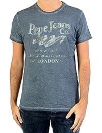 Tee Shirt Pepe Jeans PM 503324 Mundi Charcoal