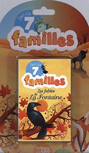 Jeux de 7 familles Les Fables de La Fontaine