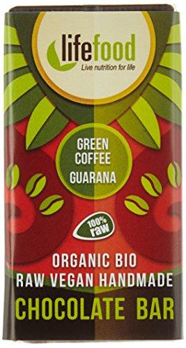 Preisvergleich Produktbild lifefood mini chocolate - Grüner Kaffee plus Guarana,  15er Pack (15 x 15 g)