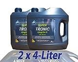 2x 4 L = 8 LITER ARAL SUPERTRONIC LONGLIFE III 3 5W-30 MOTOR-ÖL 32019467