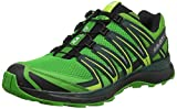 Salomon Damen XA Lite Trailrunning-Schuhe, Synthetik/Textil, gelb (onlime lime/darkest spruce/black), Gr. 45 2/3