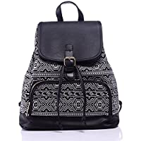 Guran® Fashion Lightweight Canvas School Backpacks Travel Bags Teens Backpack - E Series