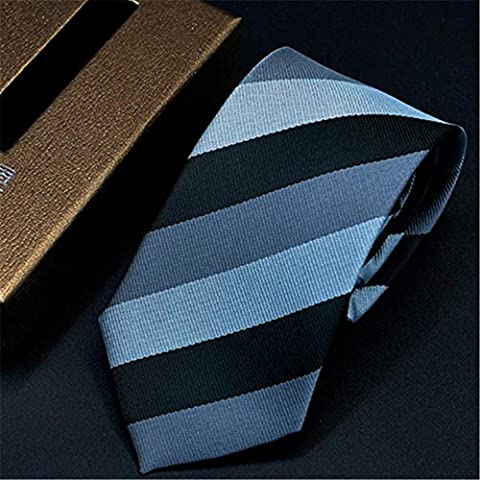 Fashion Business Tie Hommes Casual rayé Costumes Tie Cravate , g04
