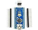 Nano V3.0 ATmega328P-AU MCU Mikrocontroller mit 16M 5V CH340G Board für Arduino