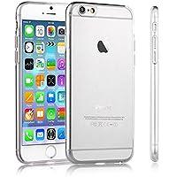 TAKEON® - Iphone 6 6s Cover Trasparente Custodia Silicone Gel Sottile Leggera Ultra Slim 0,3mm - Cover Trasparente Iphone 6 6s Apple