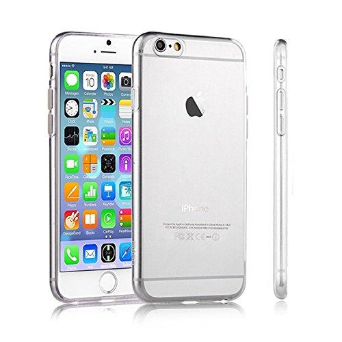 Galleria fotografica TAKEON® - Iphone 6 6s Cover Trasparente Custodia Silicone Gel Sottile Leggera Ultra Slim 0,3mm - Cover Trasparente Iphone 6 6s Apple