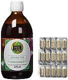 AQUISANA - jarabe depurativo 475ml + quemagrasas 60 cápsulas, 100% natural - Best Reviews Guide
