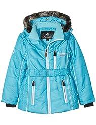 Northland Kamille - Cazadora de esquí para niña, color turquesa, tamaño FR : 10A (Taille Fabricant : 10A)