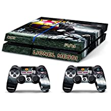Skin PS4 HD LIONEL MESSI FC BARCELLONA - limited edition DECAL COVER ADHESIVO playstation 4 SONY BUNDLE
