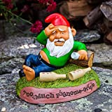 trendaffe Too Much P-GNOME-Grigio Gartenzwerg - Alkohol Kater Garten Zwerg Gartenfigur