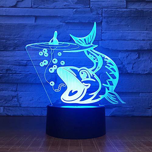 InnoWill Dekoration Geschenk Nachtlicht Kinder LED Lampe 7Colors