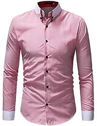Beverlly Tops De Los Camisa De De Polo Hombres Manga Larga Estilo Simple  Moderna del Ajuste Camisa De Las Camisas De La Blusa De La… 351dd0194be