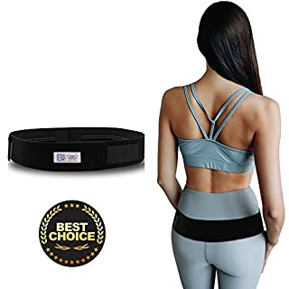 Everyday Medical Sacroiliac SI Joint Support Belt For Pelvic and SI Pain Relief - Supports the Sacroiliac Joint - Alleviates Hip Pain, Lower Back, Sciatica, Lumbar And Discomfort - Standard (Hips 76-109 cm)