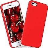 ONEFLOW iPhone 6S | Hülle Rot SlimShield PRO Back-Cover TPU Handyhülle Silikon Schutzhülle für iPhone 6/6S Case Ultra-Slim Handy Schutz Rückseite Thin Skin
