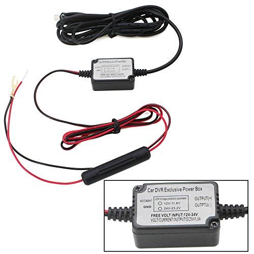 Dash Cam Hard Draht Kit mit Mini USB Stecker und Kabel umschaltbar 5 V/2 A 10 Füße mit Mini USB-Lade-Port für alle USB Dashcams Mini Usb-kabel Kit