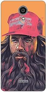 DigiPrints Designer Back Cover for Micromax Canvas Unite 4 plus-Multicolor