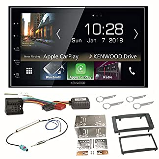 Kenwood-DMX-7018DABS-Digitalradio-CarPlay-Android-Auto-Bluetooth-USB-DAB-MP3-Einbauset-fr-T5-2003-2015-Multivan