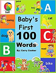 Baby's First 100 Words: First Words (English Edition)