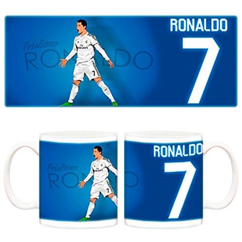 Taza Real Madrid Cristiano Ronaldo celebracón