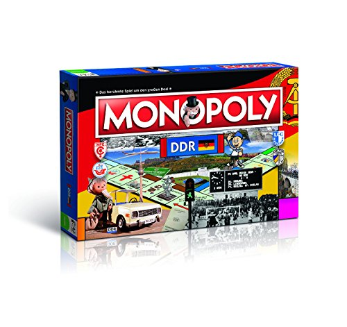 Monopoly - DDR - Deutsch - 6 Sammler Spielfiguren | Gesellschaftsspiel | Brettspiel | Spiel (Spiel City Monopoly)