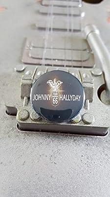Badge Johnny Hallyday Tour 66
