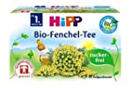 HiPP Organic Fennel Tea for Babies 40...
