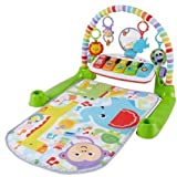 #3: Fisher Price Deluxe Kick and Play Piano Gym