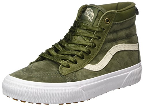 Vans Unisex-Erwachsene Sk8-Hi MTE Sneaker, Grün (MTE/Winter Moss/Military), 44.5 EU (Suede Vans Blue)