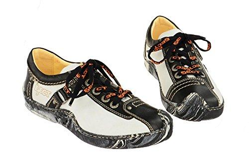 Eject Damenschuhe - sportliche Schnür- Halbschuhe SKAT Weiß
