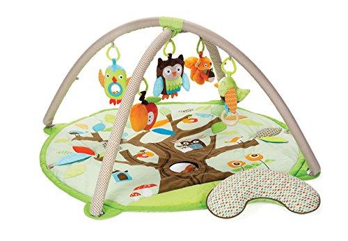 dschungel baby Skip Hop Treetop Friends Krabbel-/Spieldecke, mehrfarbig