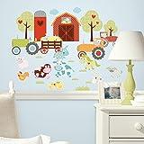 RoomMates 54185 Happi Bauernhof