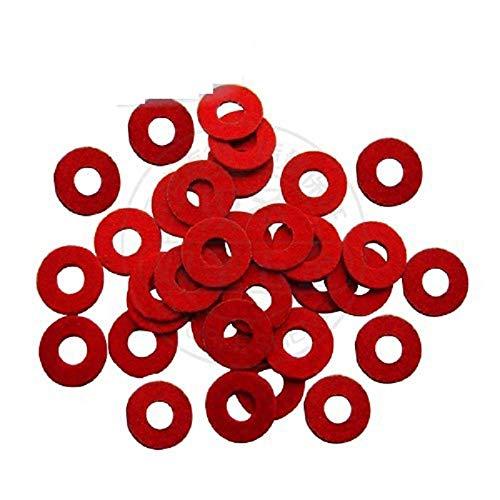 Isolierdichtung, Isolierdichtung aus rotem Stahlpapier-M3 * 7 * 1 (1000)