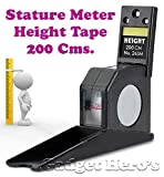 #8: Gadget Hero's Height Measuring Scale Tape (Black)