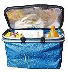 Kühlkorb Einkaufskorb Kühltasche Iso Einkaufstasche Kühlbox Picknick Korb Tasche