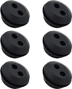 6 Für Verschiedene Motorsense Heckenschere Kraftstofftank Gummi Tülle Nr