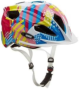 Uvex Unisex - Kinder Fahrradhelm Quatro Junior, candy, 50-55cm, 4142571615