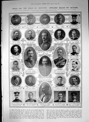Offiziere Beendeten Wanderer G-Hafenarbeiter 1914 Vorgang G Morris C Grün-J Massie E