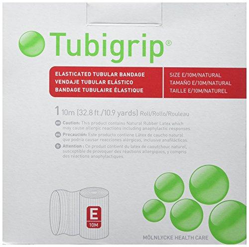 Tubigrip Elastischer Schlauchverband - Größe E - 10m Rolle von Molnlycke Healthcare -
