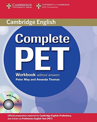 Complete Pet. Workbook. Per le Scuole superiori. Con CD Audio