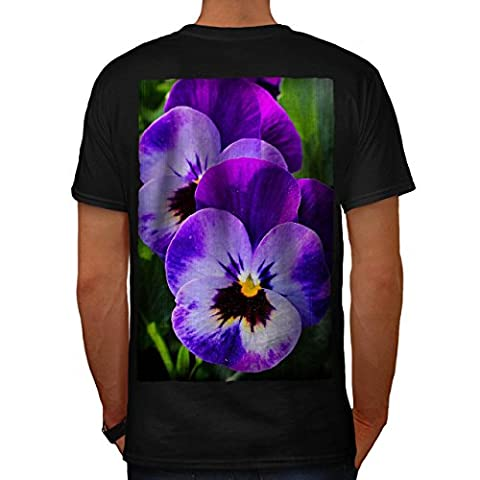 Violet Petit Une fleur La nature La Homme NOUVEAU Noir