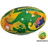 big sale 3522d 55608 OPTIMUM Nations - Pelota de Rugby, Color diseño de la Bandera de  Inglaterra, Talla