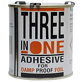 Transtools Three in One Damp Proof Lining Foil Paper Adhesive - 500ml