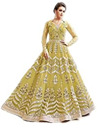 Cream and black flower print banglori silk unstitched lehenga