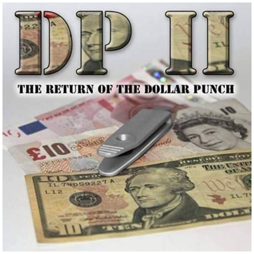 DP-II-The-Return-of-the-Dollar-Punch-by-Card-Shark-Magie-mit-Tuch-Zaubertricks-und-Magie SOLOMAGIA DP II – The Return of The Dollar Punch by Card-Shark – Magie mit Tuch – Zaubertricks und Magie -