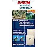 Eheim 2618080 Filterpatrone für Innenfilter 2208-2212, aquaball 60-180,0 biopower 160-240 und Vorfilter 4004320 (2 St.)