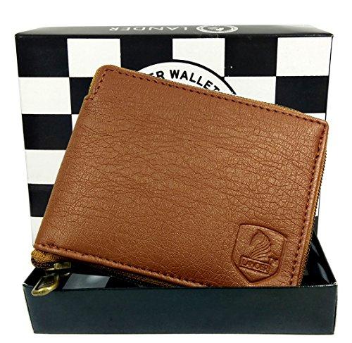 [Sponsored]Men's Genuine Leather Wallet (Tan) By LANDER