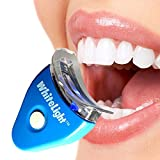 Nika White Light Teeth Whitening System Tooth Polisher Whitener Stain Remover with LED Light Luma Smile Rubber Cups