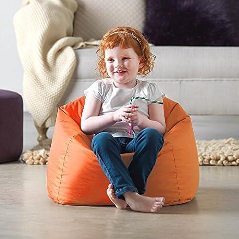 My 1st Bean Bag - Indoor & Outdoor Childrens Bean Bags - Small Kids Bean Bag (Orange)
